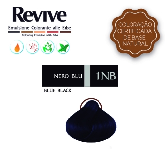 Revive 1NB Preto Azulado